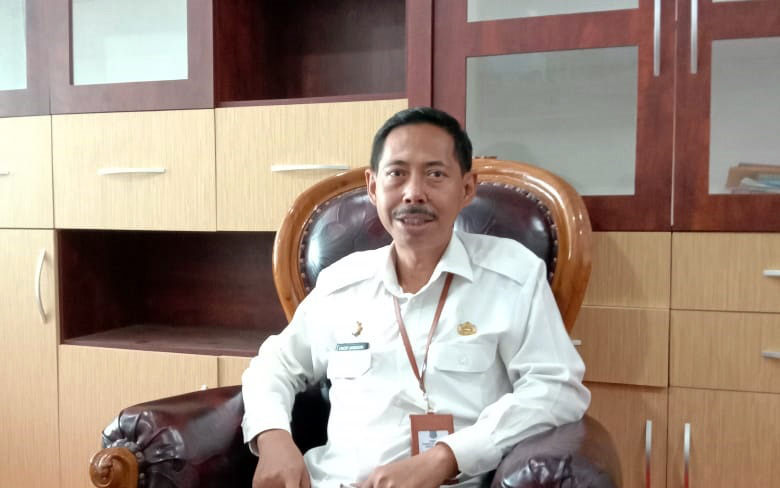 rs. Encep Jarkasih, Kepala Inspektorat Kabupaten Tanjabbar. (FOTO : JambinetID)