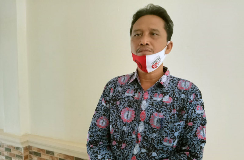 Ketua Komisi Pemilihan Umum (KPU) Kabupaten Tanjab Barat, Hairudin, S.Sos. [FOTO : JambiNET]