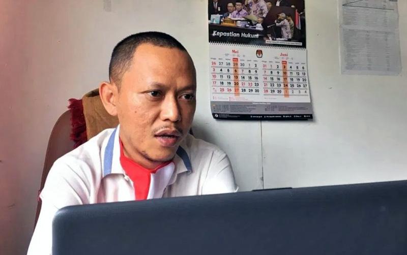 Komisioner KPU Tanjabbar Divisi Program dan Data, Ahmad Haziq, S.HI [FOTO : JambiNET/Ist]