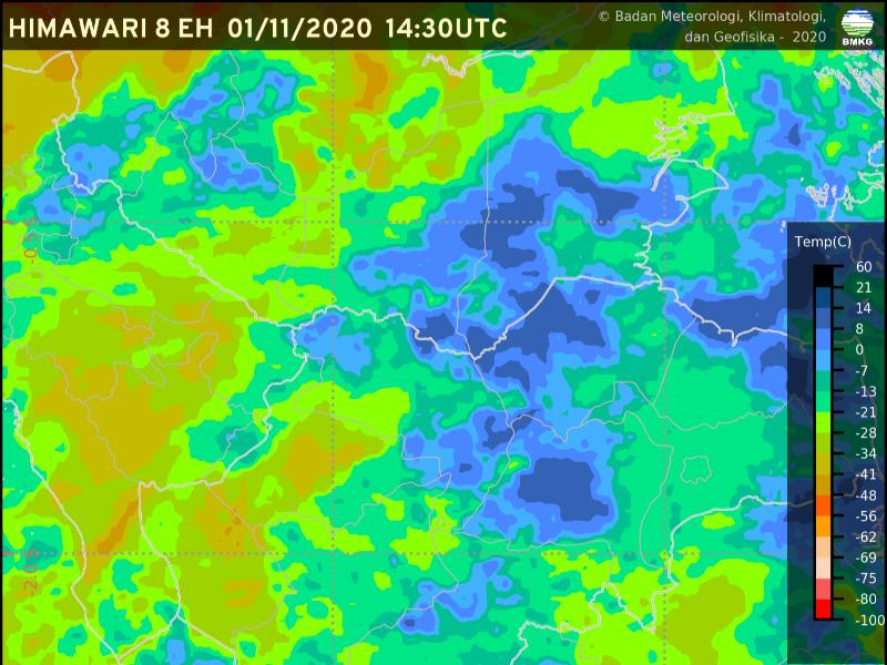 Peringatan dini cuaca wilayah Jambi [01 November 2020] #BMKG Selengkapnya klik tautan berikut https://t.co/EEGGftNRMc