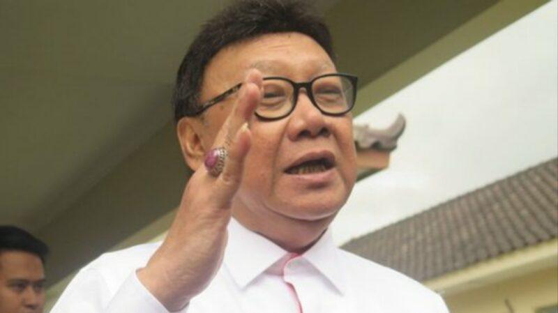 Menteri Pendayagunaan Aparatur Negara dan Reformasi Birokrasi, Tjahjo Kumolo. [FOTO : JambiNET/Ist]