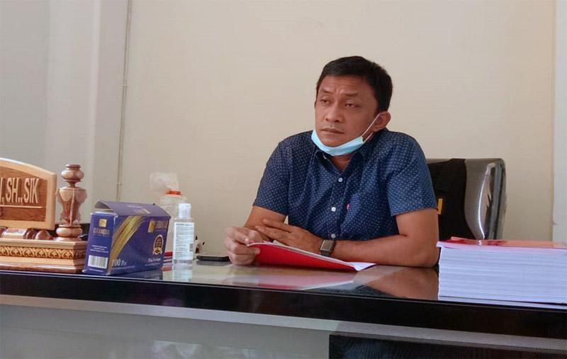 Reskrim Polres Tanjab Barat AKP Jan Manto Hasiholan, SH, SIK. [FOTO : JambiNET/HR]