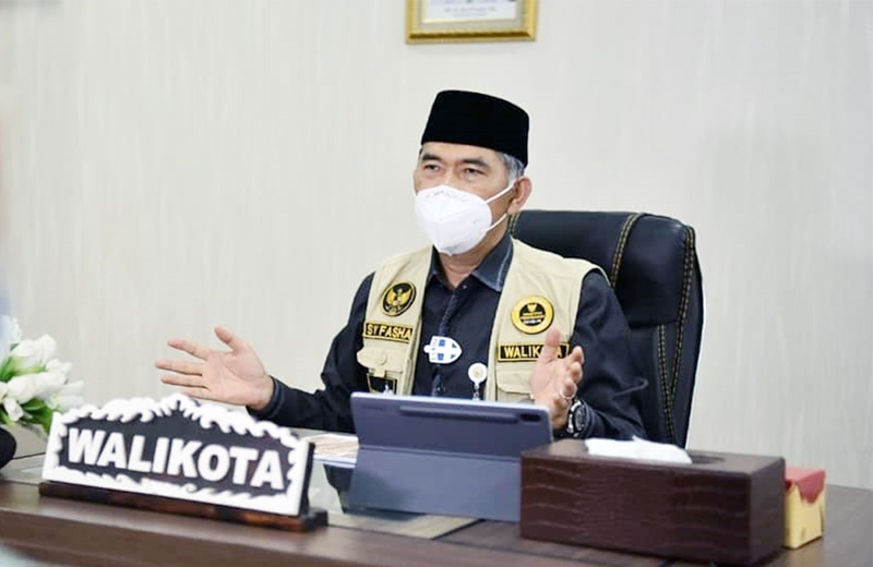 Wali Kota Jambi, Dr. H. Syarif Fasha. [FOTO : JambiNET/IG Humas Pemkot]