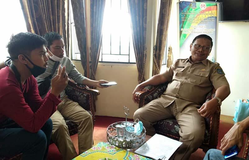 Kepala Dinas Pendidikan dan Kebudayaan Tanjung Jabung Barat, Martunis M. Yusuf, M.Pd. [FOTO : JambiNET]