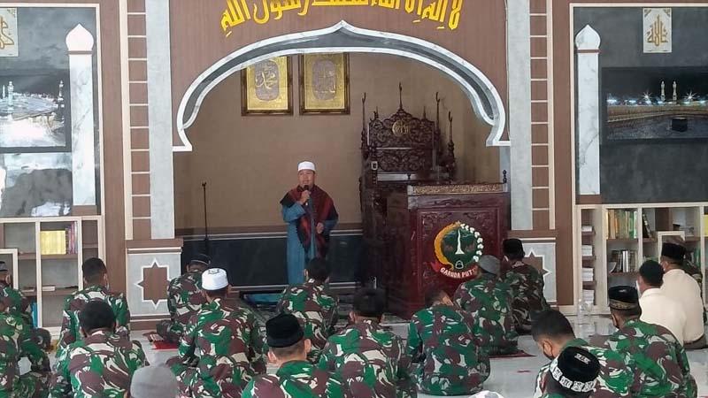 Sambut Hari Juang Kartika TNI AD, Korem 042/Gapu Gelar Do'a Bersama. [FOTO : JambiNET/REM042]