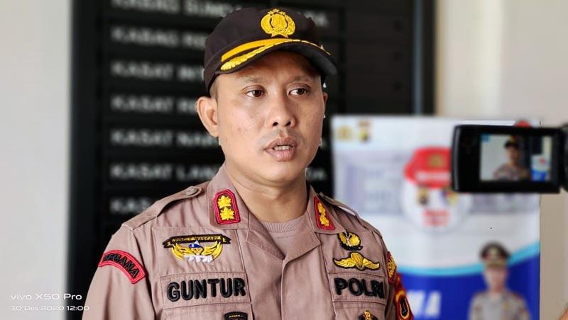 Kapolres Tanjab Barat AKBP Guntur Saputro, SIK, MH. [FOTO : JambiNET]