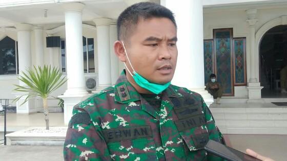 Dandim 0419 /Tanjab Letkol Inf Erwan Susanto. [FOTO : JambiNET]